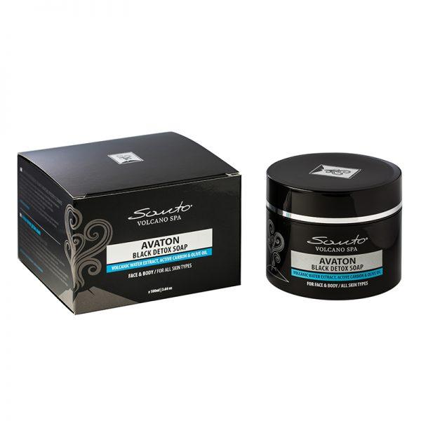 Avaton Black Detox Soap 100ml